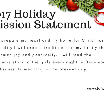 holiday mission statement