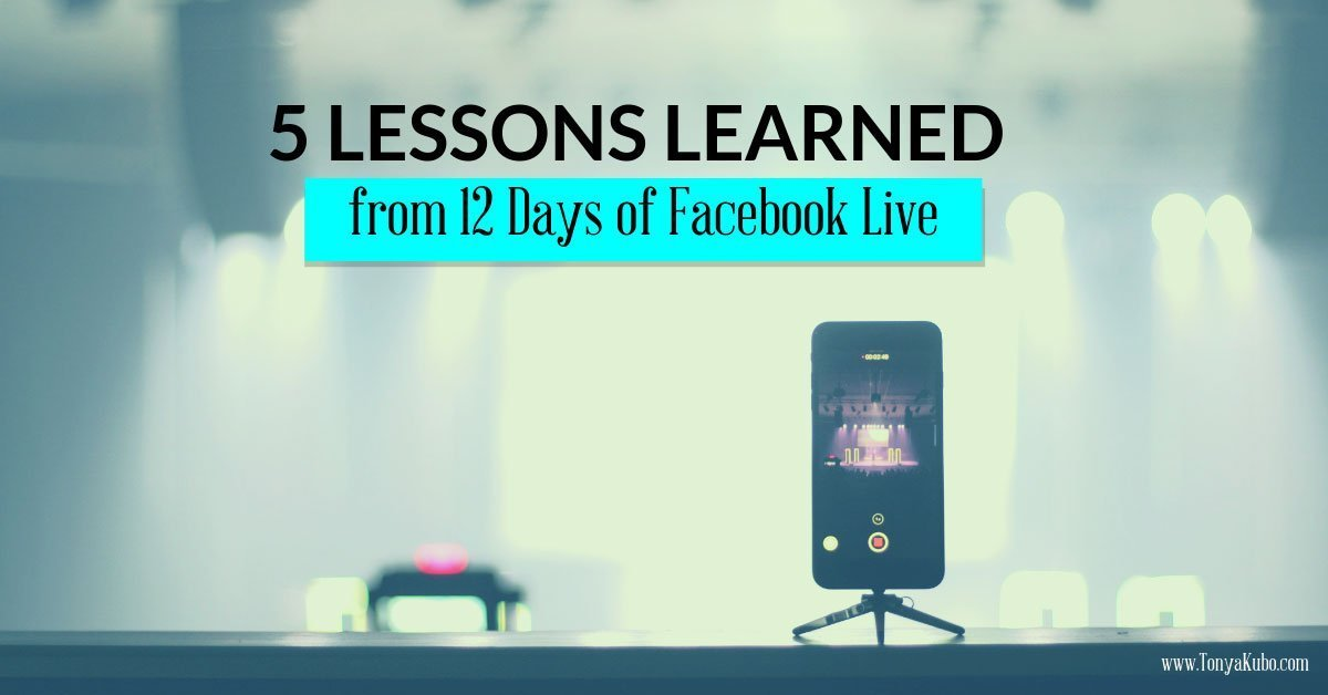 5 Lessons Learned from 12 Days of Facebook