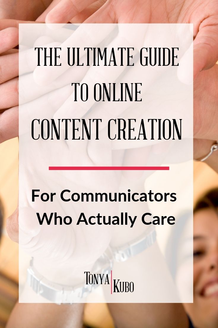 ultimate guide to content creation