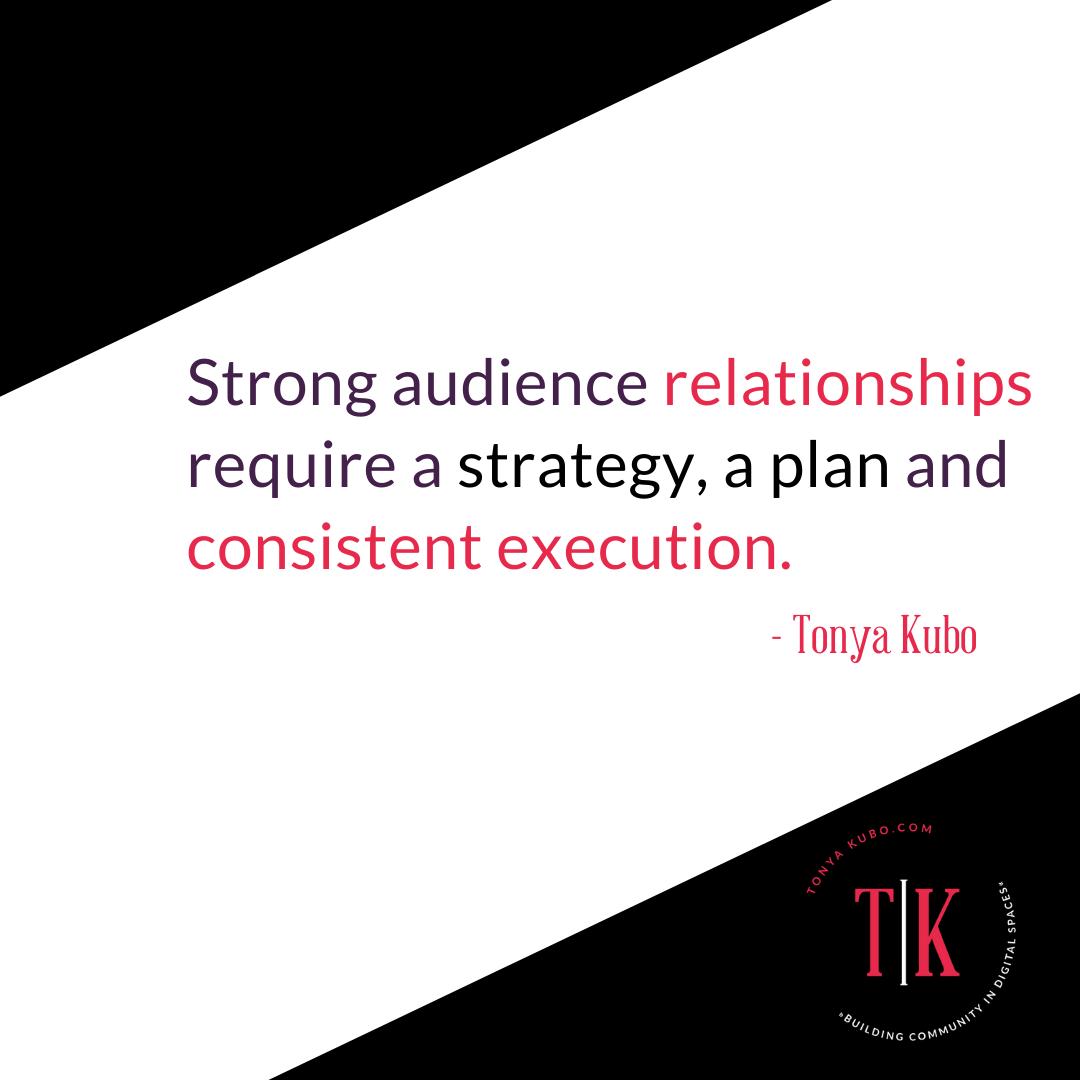 Tonya Kubo quote about social media posting
